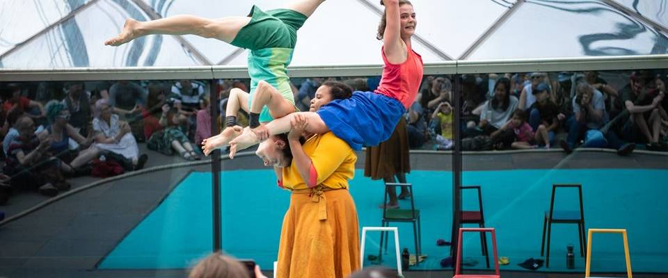 Lifted by Mimbre at the 2019 Greenwich+Docklands International Festival (GDIF)