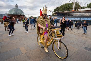 Big Gay Disco Bike, Fatt Projects, GDIF 2021.
