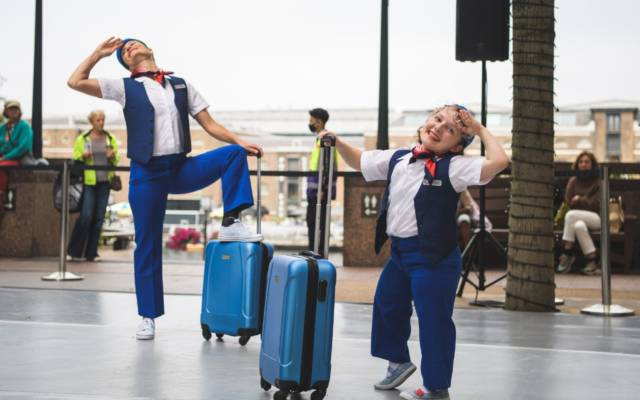 A Graceful Act of Stupidity, Candoco Dance, Dancing City, GDIF 2021.
