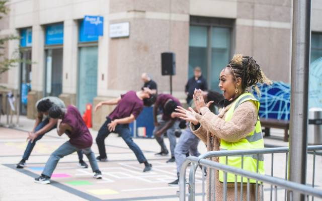 Born To Protest, Joseph Toonga, Dancing City, GDIF 2021.