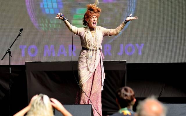 Ida Barr, Cabaret Stage, GDIF 2021.