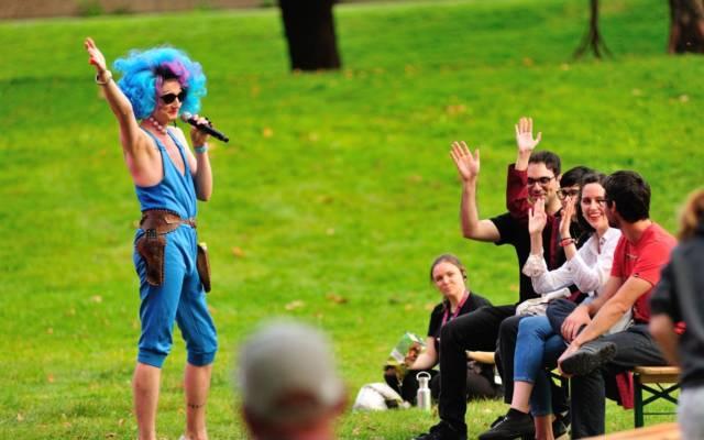 Cabaret Stage, Healing Together, GDIF 2021.