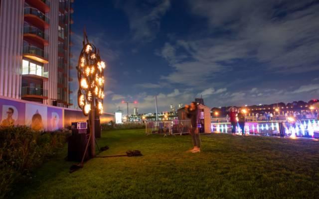 Reflection Gardens, Walk the Plank, GDIF 2021.