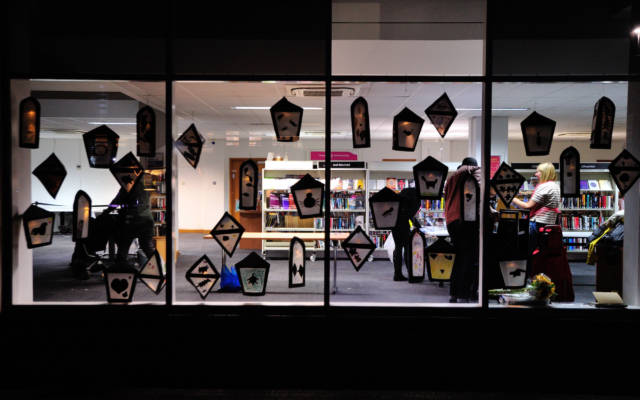 Community Art Projects, Autumn Glow, FESTIVAL.ORG, 2021.