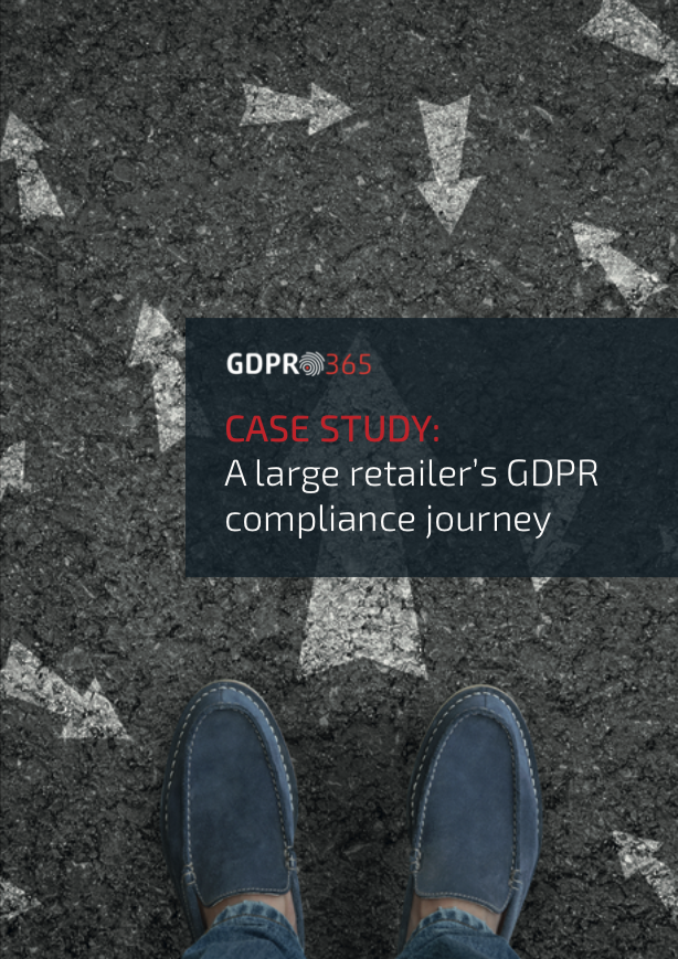 Implementing GDPR when you are a large online retailer in the UK