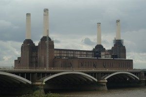 Kullfabrikk over vannet