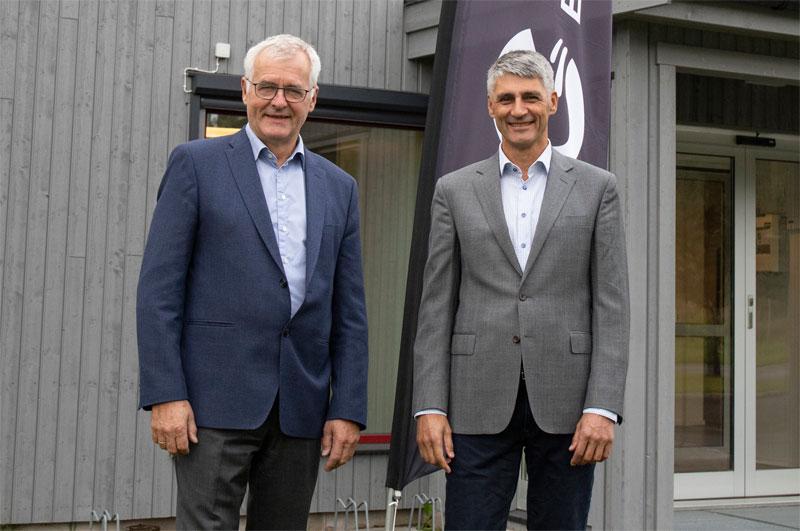 Bjarne Slapgard og Per Oluf Solbraa