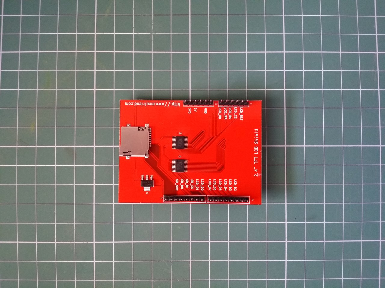 Touch Screen module back