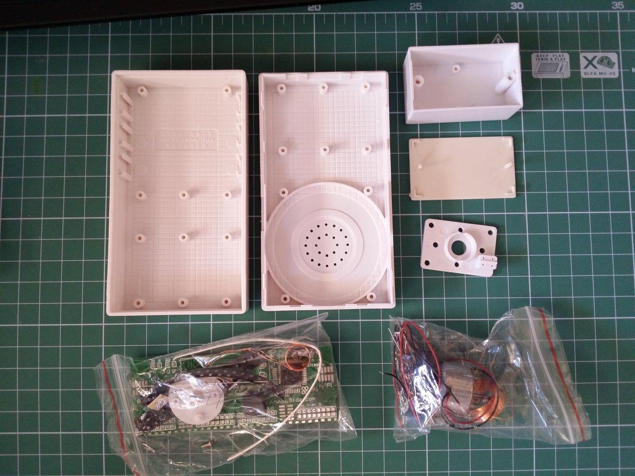 Rotating LED display kit