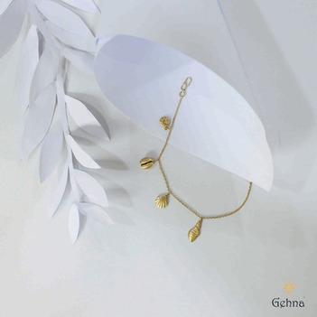 Beachy 18K Charm Bracelet