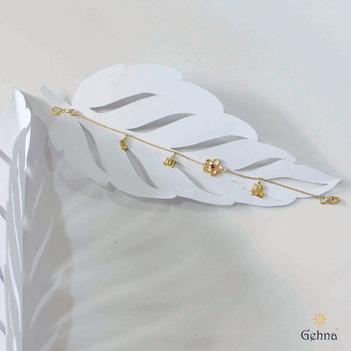 Gardenia 18K Gold Bracelet