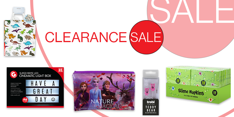 Wholesale clearance and sale products
