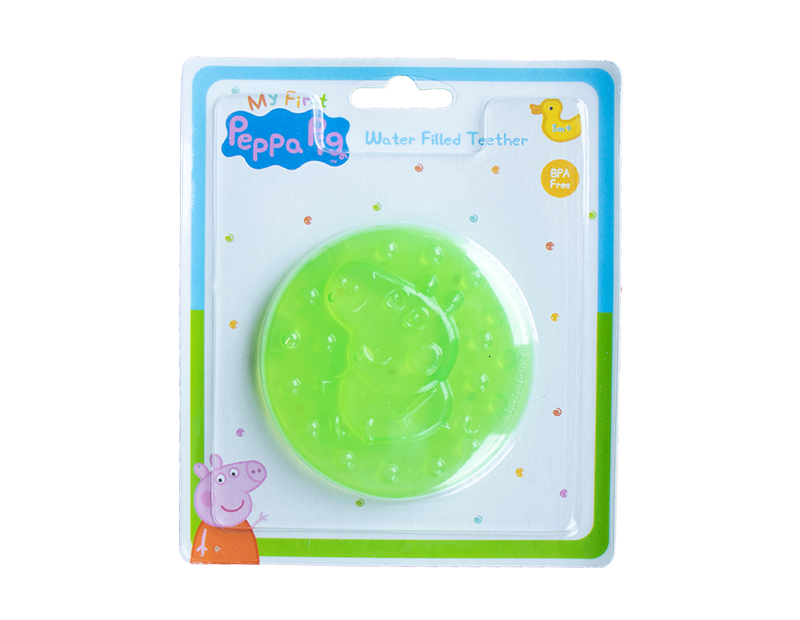 Peppa Pig 3D Water Filled Teether