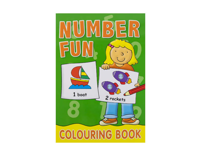 Alphabet & Number Colouring Book
