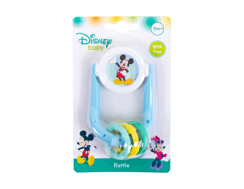 Disney Baby Rattle & Teether