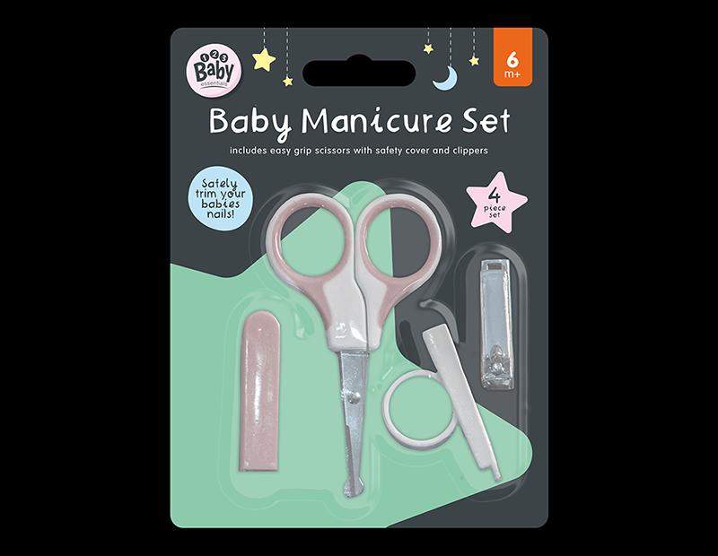Baby Manicure Set - 4 Piece