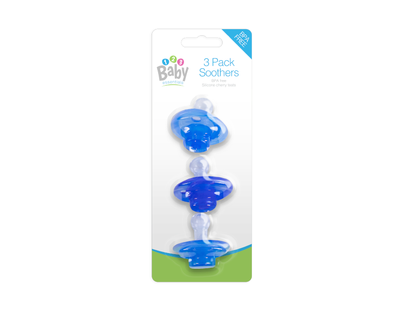 Baby Soothers - 3 Pack