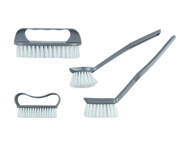 Kitchen Brushes - 4 Pack