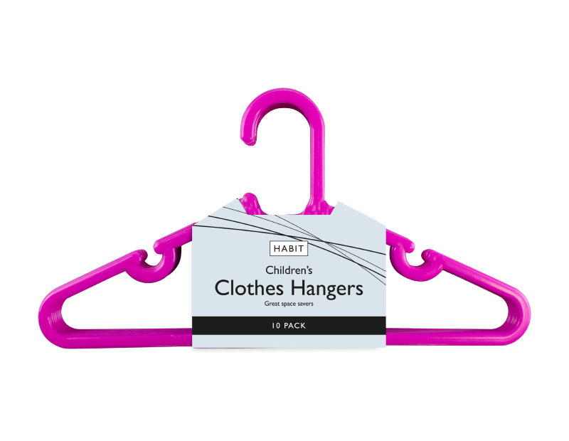 Childrens Clothes Hangers - 10 Pack