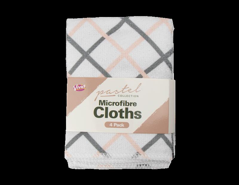 Microfibre Cloths - 4 Pack - Trend