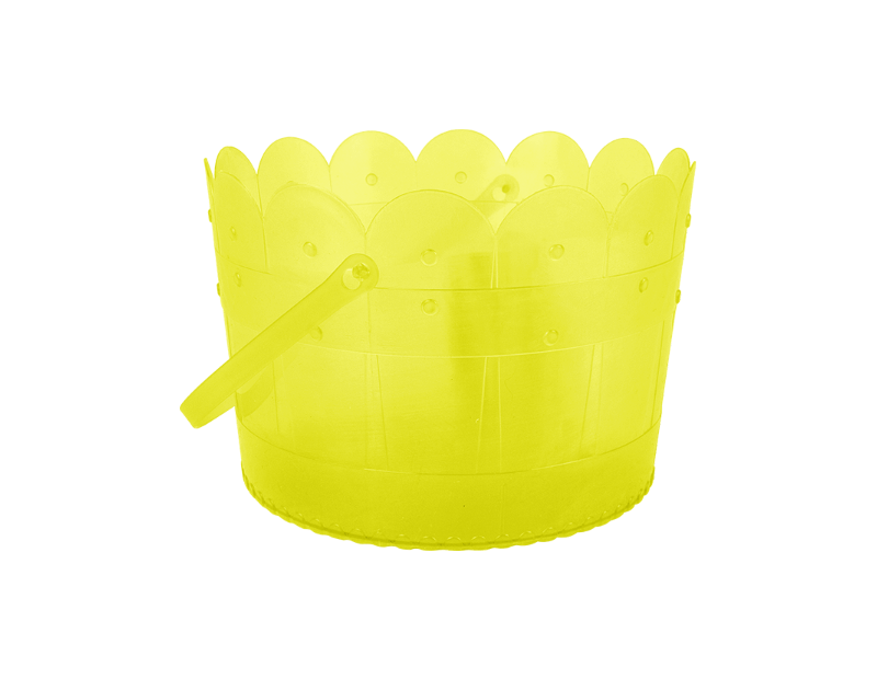 Plastic Easter Treat Bucket