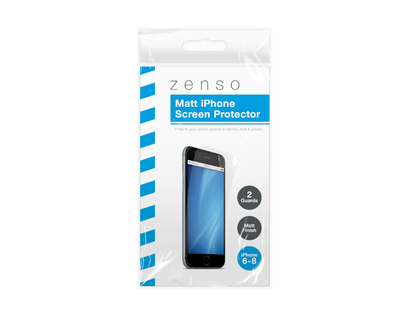 iPhone Screen Protector - 2 Pack