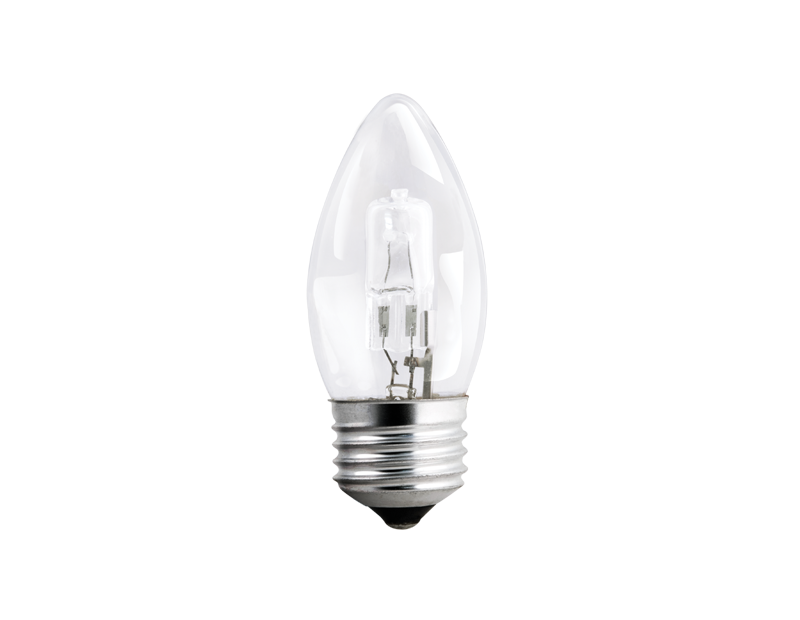 Halogen Clear Candle Light Bulb 42w (With PDQ)