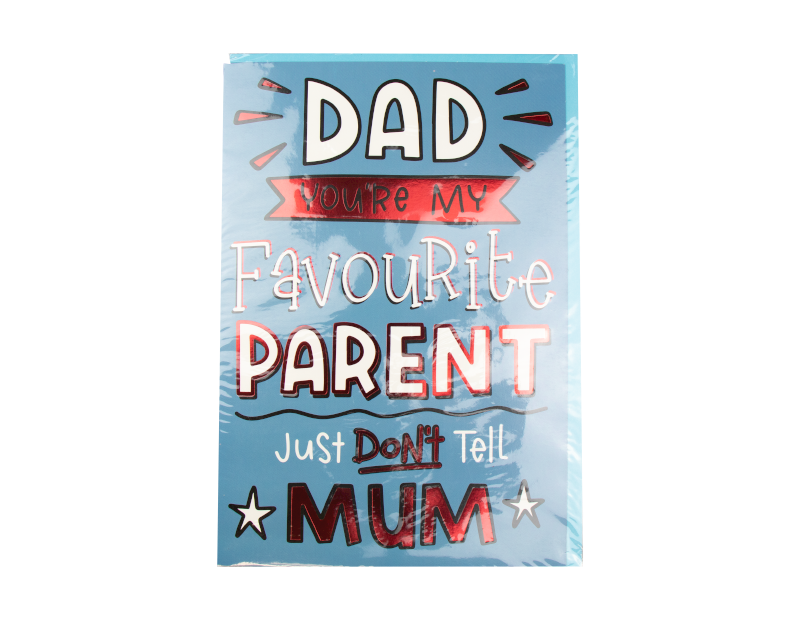 Fathers Day Card With FSDU