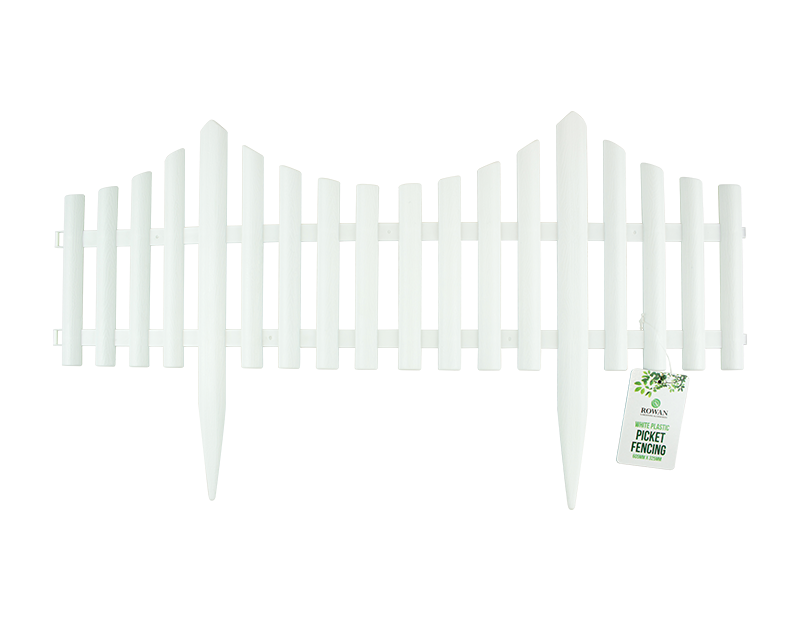 White Picket Fence With PDQ