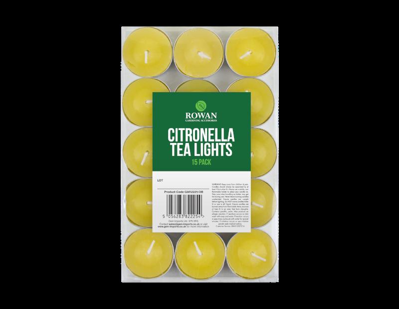 Citronella Tealight Candles