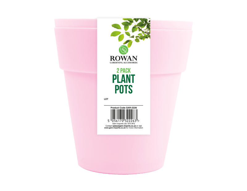 Plant Pots 15cm - 2 Pack