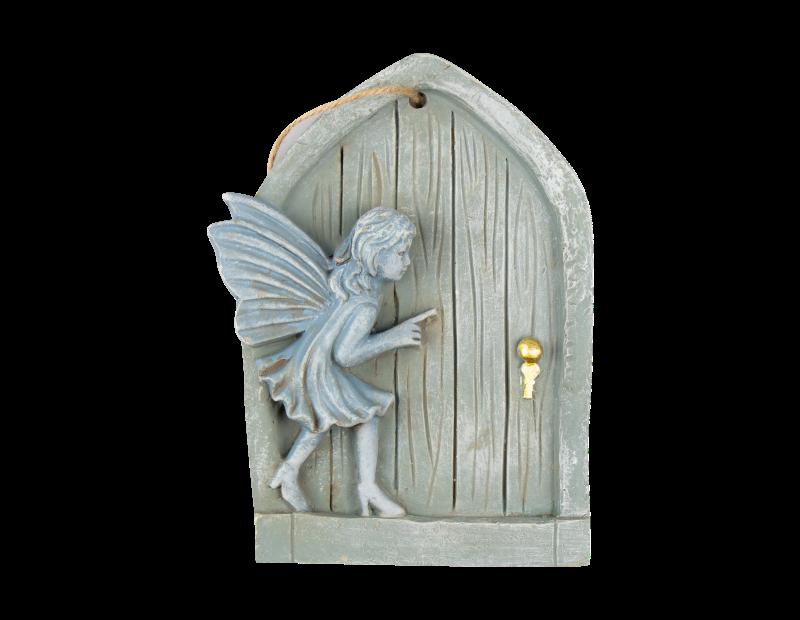 Hanging Fairy Door Plaque With PDQ