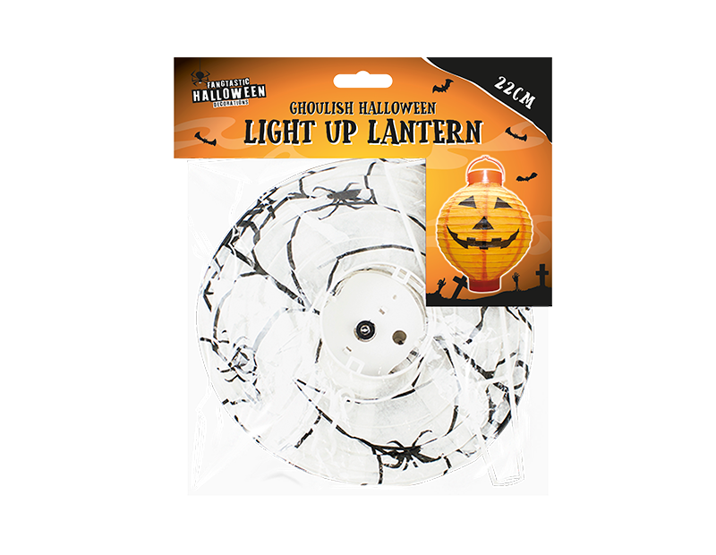 Halloween Light Up Indoor Lantern