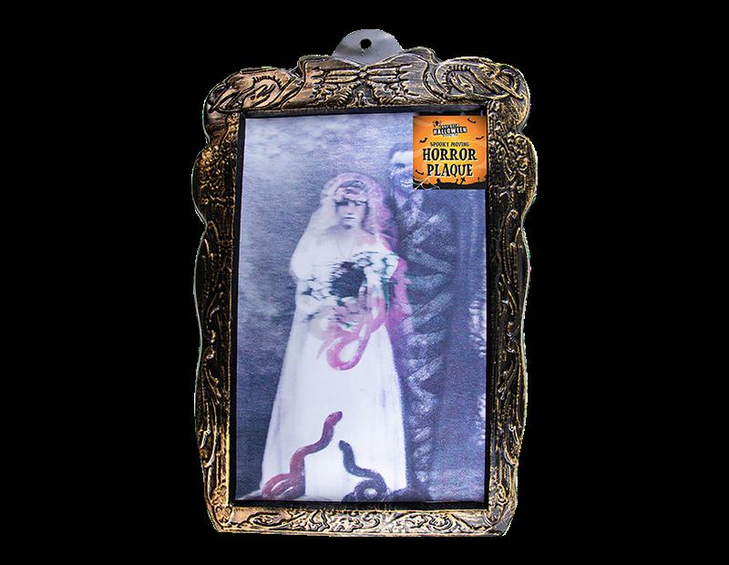 Lenticular Halloween Horror Plaque