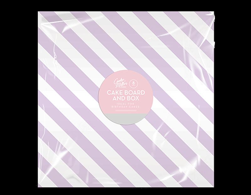 Cake Box & Board Set