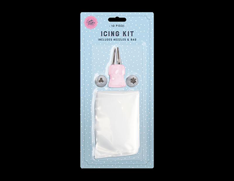 Icing Kit - 10 Piece