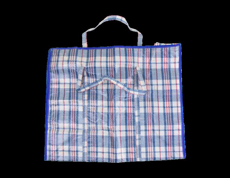 Jumbo Check Shopping Bag