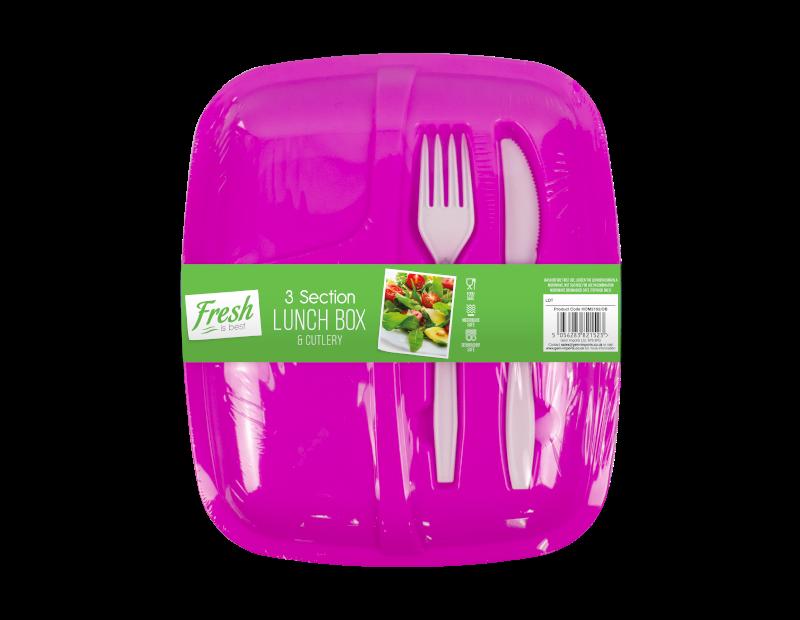 Lunch Box & Cutlery Set