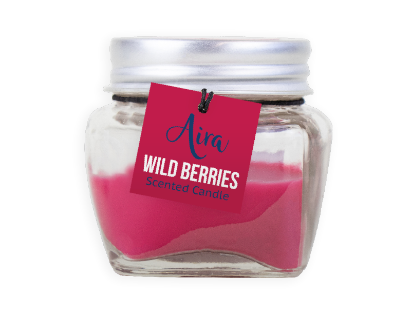 Scented Candle In Mini Jar With PDQ