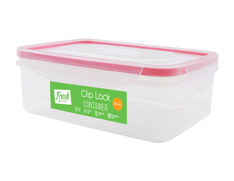 Clip Lock Containers 1450ml