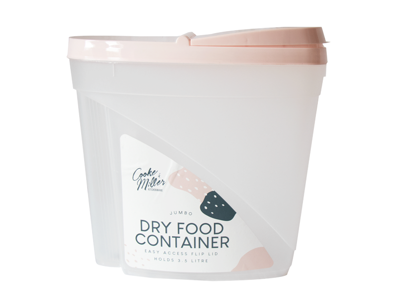 Jumbo Dry Food & Cereal Container - Trend