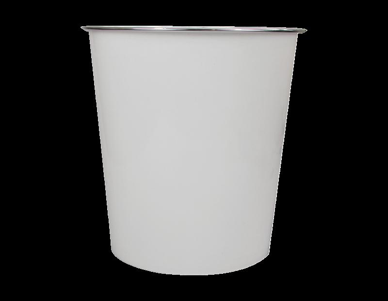 Plain Plastic Waste Bin - Trend