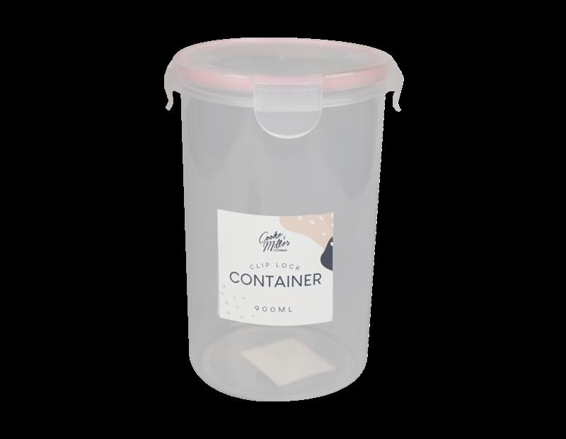 Round Clip Lock Container 900ml - Trend