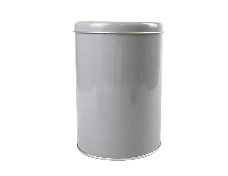 Round Metal Storage Tin With Lid Trend