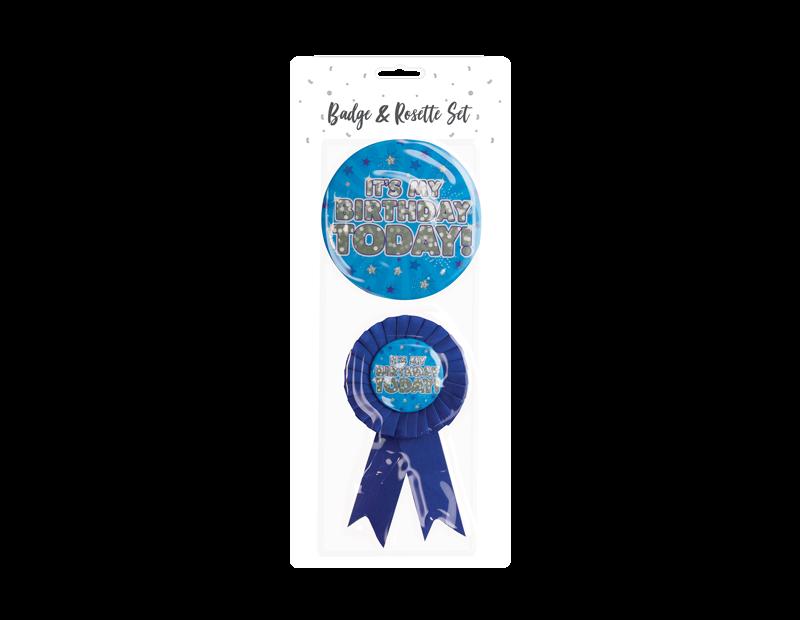Birthday Party Badge Set - 2 Piece
