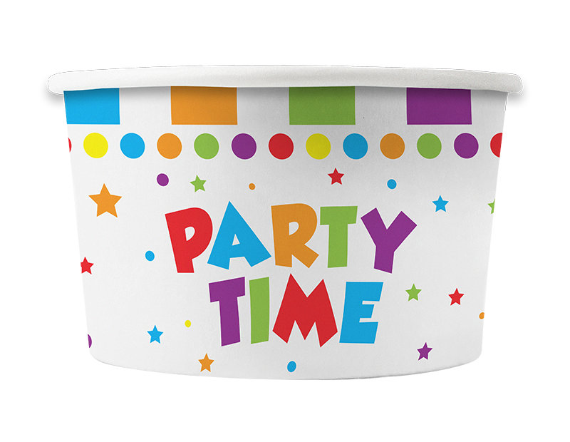 Party Treat Tubs - 8 Pack