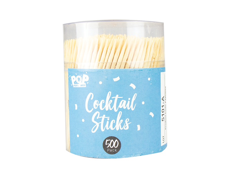 Cocktail Sticks - 500 Pack (With PDQ)