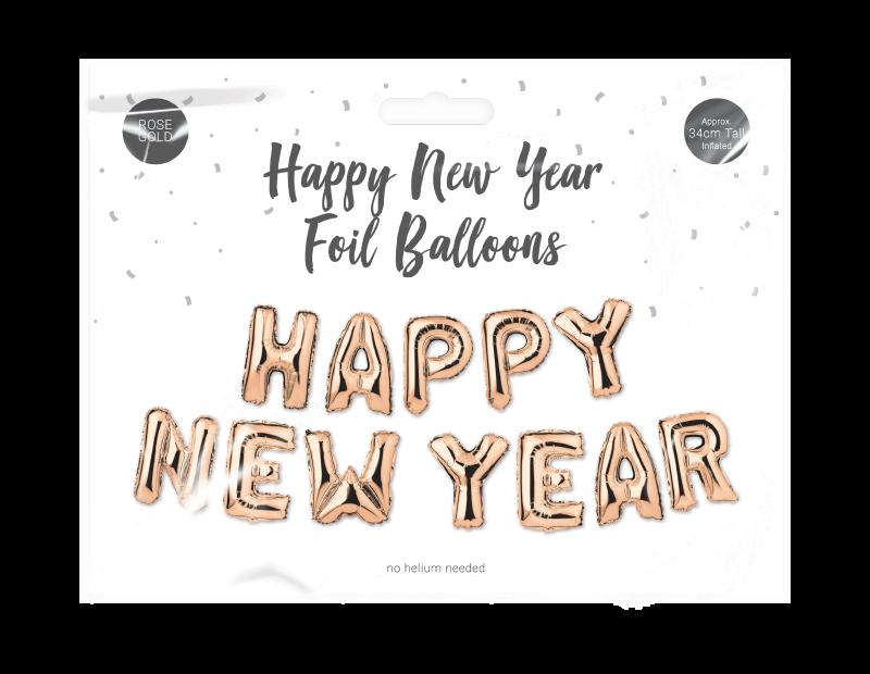 Happy New Year Foil Balloon