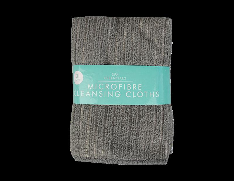 Microfibre Face Cloths - 3 Pack