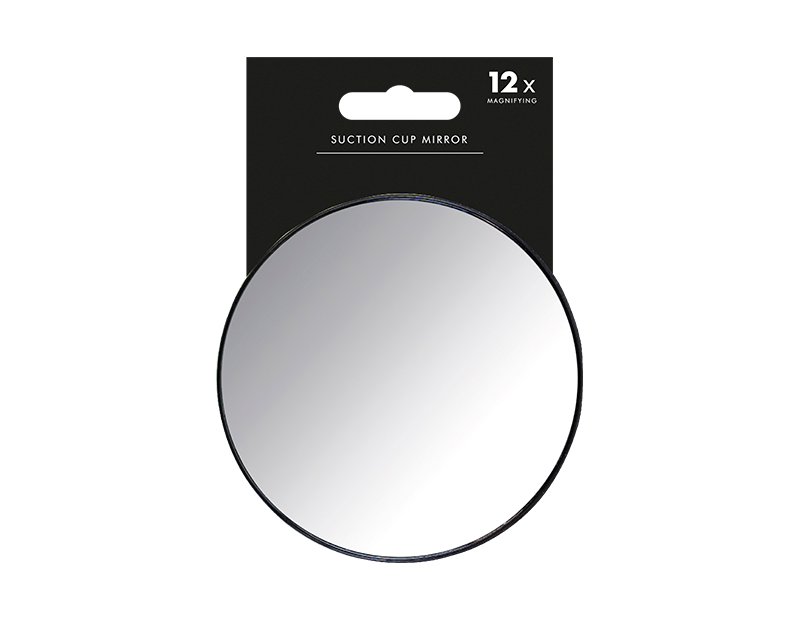 Suction Magnified Mirror